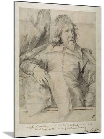 Inigo Jones-Sir Anthony Van Dyck-Mounted Giclee Print