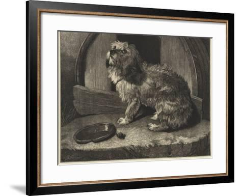 Be it Ever So Humble, There's No Place Like Home-Edwin Landseer-Framed Art Print