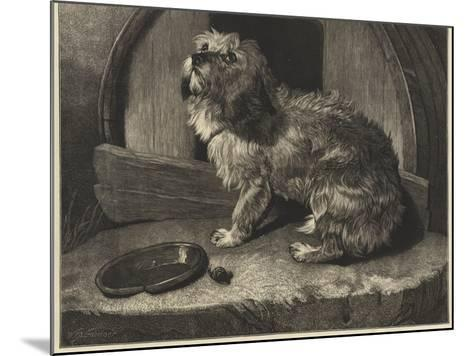 Be it Ever So Humble, There's No Place Like Home-Edwin Landseer-Mounted Giclee Print