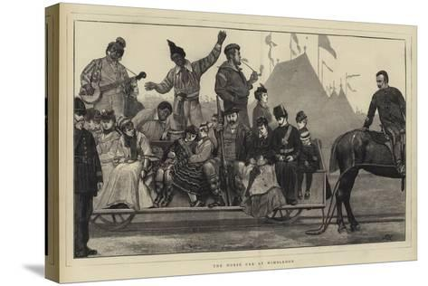 The Horse Car at Wimbledon-Sir James Dromgole Linton-Stretched Canvas Print
