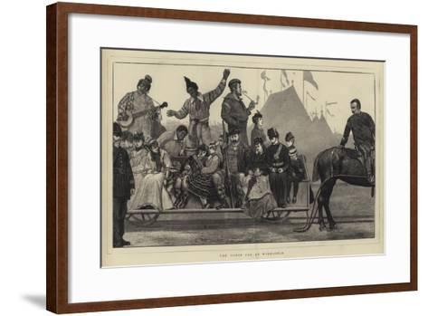 The Horse Car at Wimbledon-Sir James Dromgole Linton-Framed Art Print