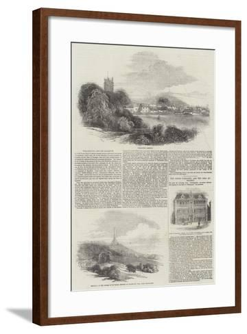 Wellington and its Dukedom-Samuel Read-Framed Art Print