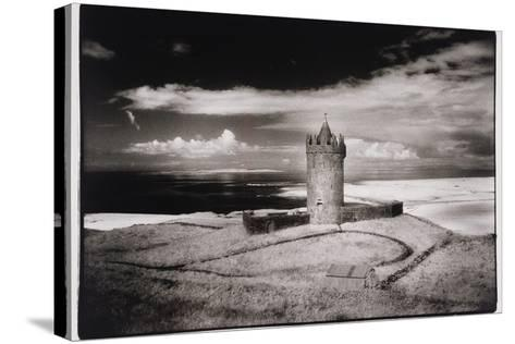 Doonagore Tower, Co. Clare, Ireland-Simon Marsden-Stretched Canvas Print