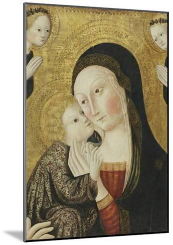 Madonna and Child with Angels, 1430-45-Sano di Pietro-Mounted Giclee Print