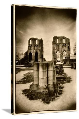 Roche Abbey, Yorkshire-Simon Marsden-Stretched Canvas Print