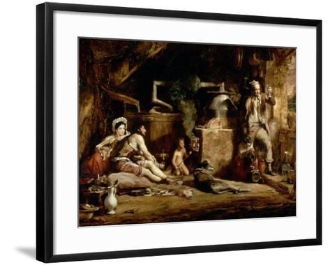 The Irish Whiskey Still, 1840-Sir David Wilkie-Framed Art Print