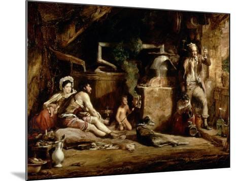 The Irish Whiskey Still, 1840-Sir David Wilkie-Mounted Giclee Print