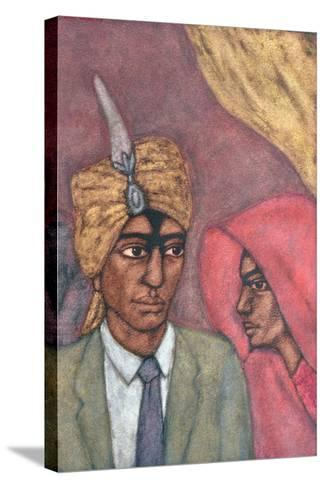 The Union, 1993-Shanti Panchal-Stretched Canvas Print