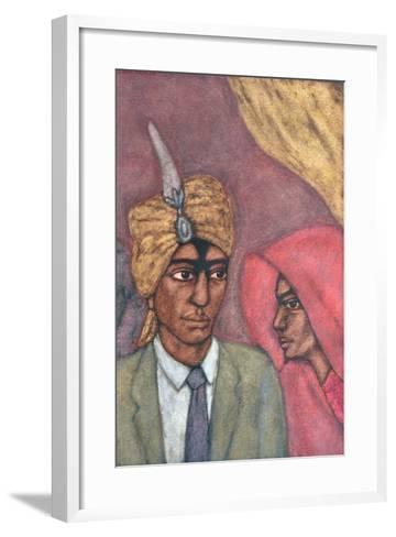 The Union, 1993-Shanti Panchal-Framed Art Print