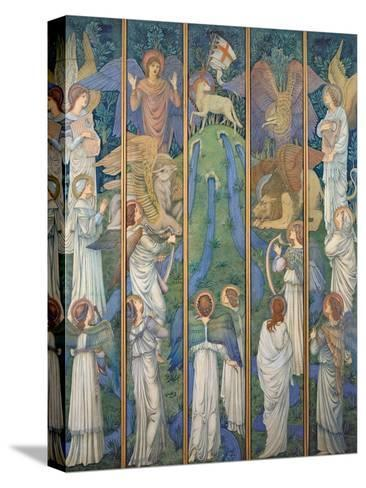 Paradise-Edward Burne-Jones-Stretched Canvas Print