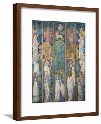 Paradise-Edward Burne-Jones-Framed Art Print