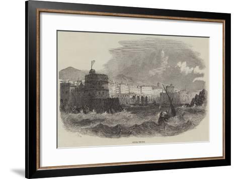 Civita Vecchia-Samuel Read-Framed Art Print