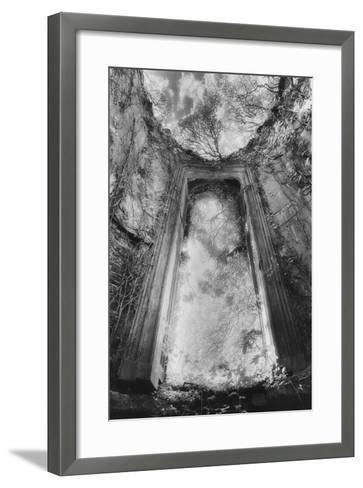 Gothic Window, Castle Bernard, Ireland-Simon Marsden-Framed Art Print