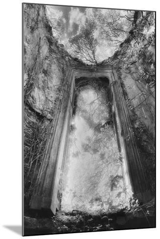 Gothic Window, Castle Bernard, Ireland-Simon Marsden-Mounted Photographic Print