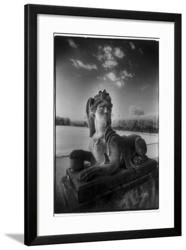 A Sphinx at Gross-Sedlitz, Heidenau-Simon Marsden-Framed Art Print