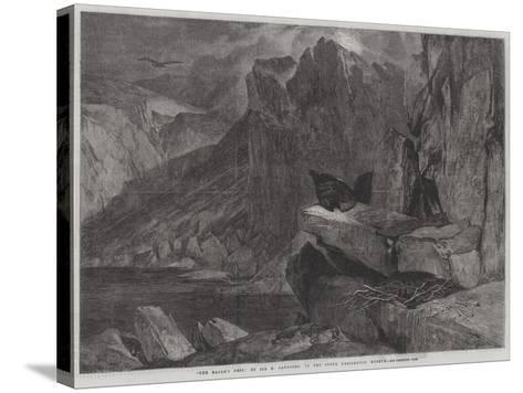 The Eagle's Nest-Edwin Landseer-Stretched Canvas Print