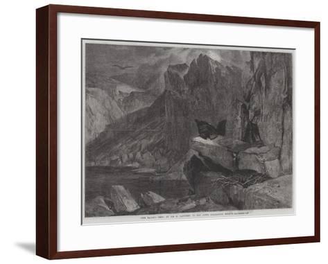 The Eagle's Nest-Edwin Landseer-Framed Art Print