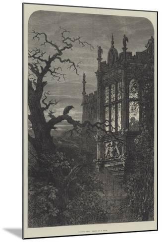 An Evil Omen-Samuel Read-Mounted Giclee Print