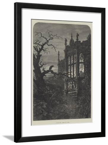 An Evil Omen-Samuel Read-Framed Art Print