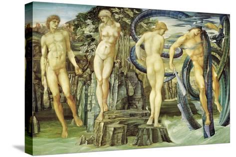 Perseus and Andromeda, 1876-Edward Burne-Jones-Stretched Canvas Print