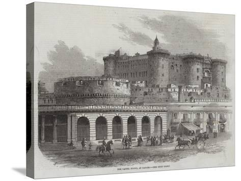 The Castel Nuovo, at Naples-Samuel Read-Stretched Canvas Print