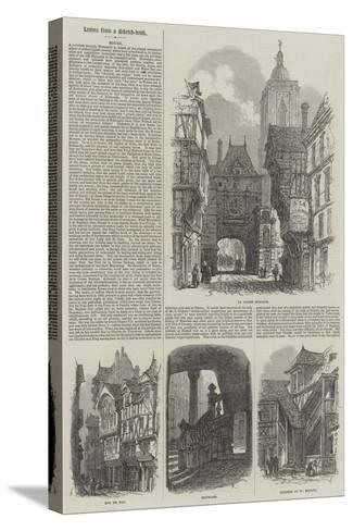 Rouen-Samuel Read-Stretched Canvas Print