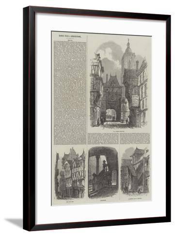 Rouen-Samuel Read-Framed Art Print