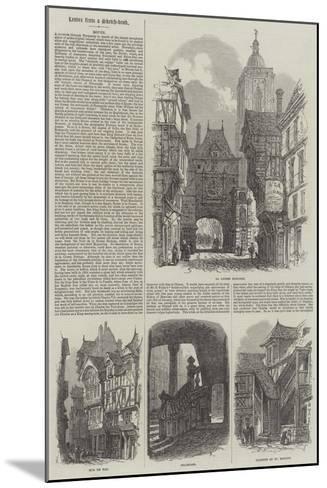 Rouen-Samuel Read-Mounted Giclee Print