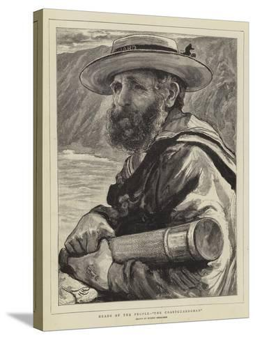 Heads of the People, The Coastguardsman-Hubert von Herkomer-Stretched Canvas Print