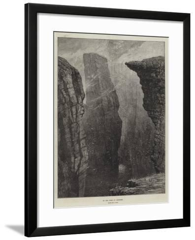 On the Coast of Caithness-Samuel Read-Framed Art Print