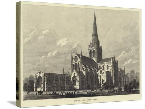 Chichester Cathedral-Samuel Read-Stretched Canvas Print