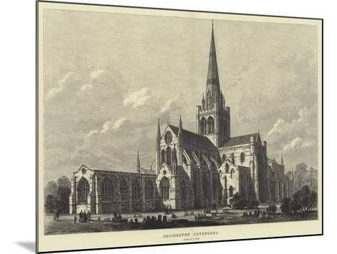 Chichester Cathedral-Samuel Read-Mounted Giclee Print