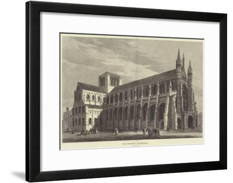 Winchester Cathedral-Samuel Read-Framed Art Print