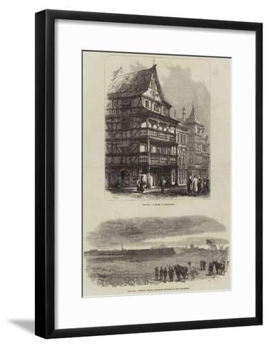 Franco-Prussian War-Samuel Read-Framed Art Print