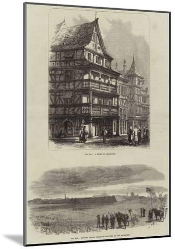 Franco-Prussian War-Samuel Read-Mounted Giclee Print