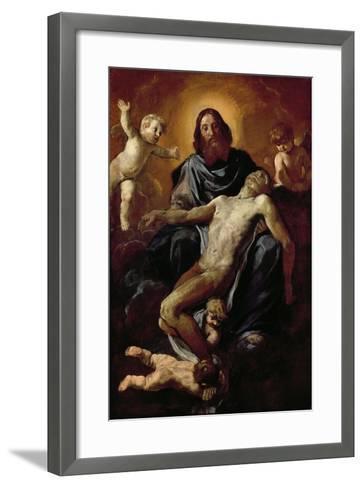Holy Trinity-Simone Cantarini-Framed Art Print