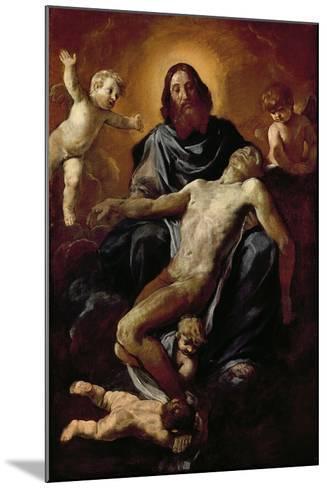 Holy Trinity-Simone Cantarini-Mounted Giclee Print