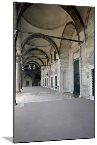 Turkey. Istanbul. Mihrimah Sultan Mosque. Ottoman Style.16th Century. Portico- Sinan-Mounted Photographic Print