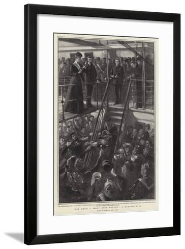 For She's a Jolly Good Fellow, a Reminiscence-Sydney Prior Hall-Framed Art Print