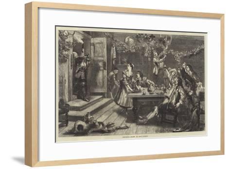 Surprised-Sir John Gilbert-Framed Art Print