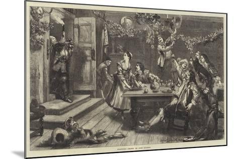 Surprised-Sir John Gilbert-Mounted Giclee Print