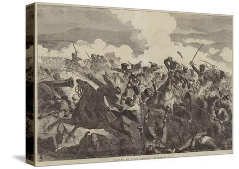 Charge of Light Cavalry, at Balaclava-Sir John Gilbert-Stretched Canvas Print