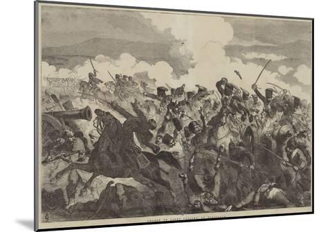 Charge of Light Cavalry, at Balaclava-Sir John Gilbert-Mounted Giclee Print