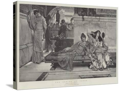 The Shrine of Venus-Sir Lawrence Alma-Tadema-Stretched Canvas Print