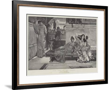 The Shrine of Venus-Sir Lawrence Alma-Tadema-Framed Art Print