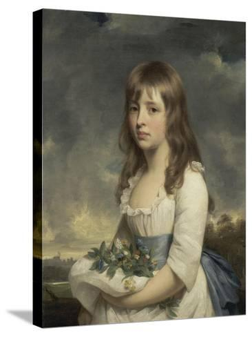 Portrait of a Girl, C.1790-Sir William Beechey-Stretched Canvas Print