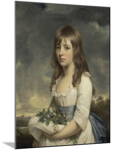 Portrait of a Girl, C.1790-Sir William Beechey-Mounted Giclee Print