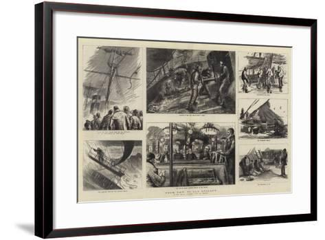 From New to Old England-Sydney Prior Hall-Framed Art Print