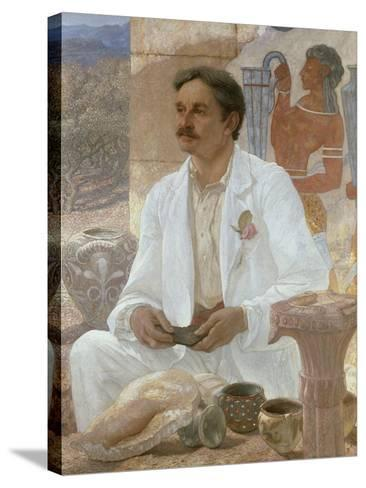 Sir Arthur Evans Among the Ruins of the Palace of Knossos, 1907-William Blake Richmond-Stretched Canvas Print