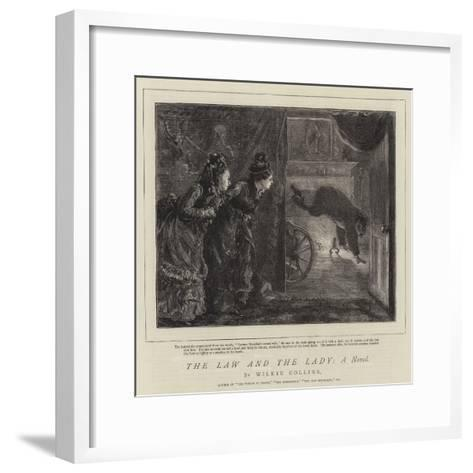 The Law and the Lady, a Novel-Sydney Prior Hall-Framed Art Print